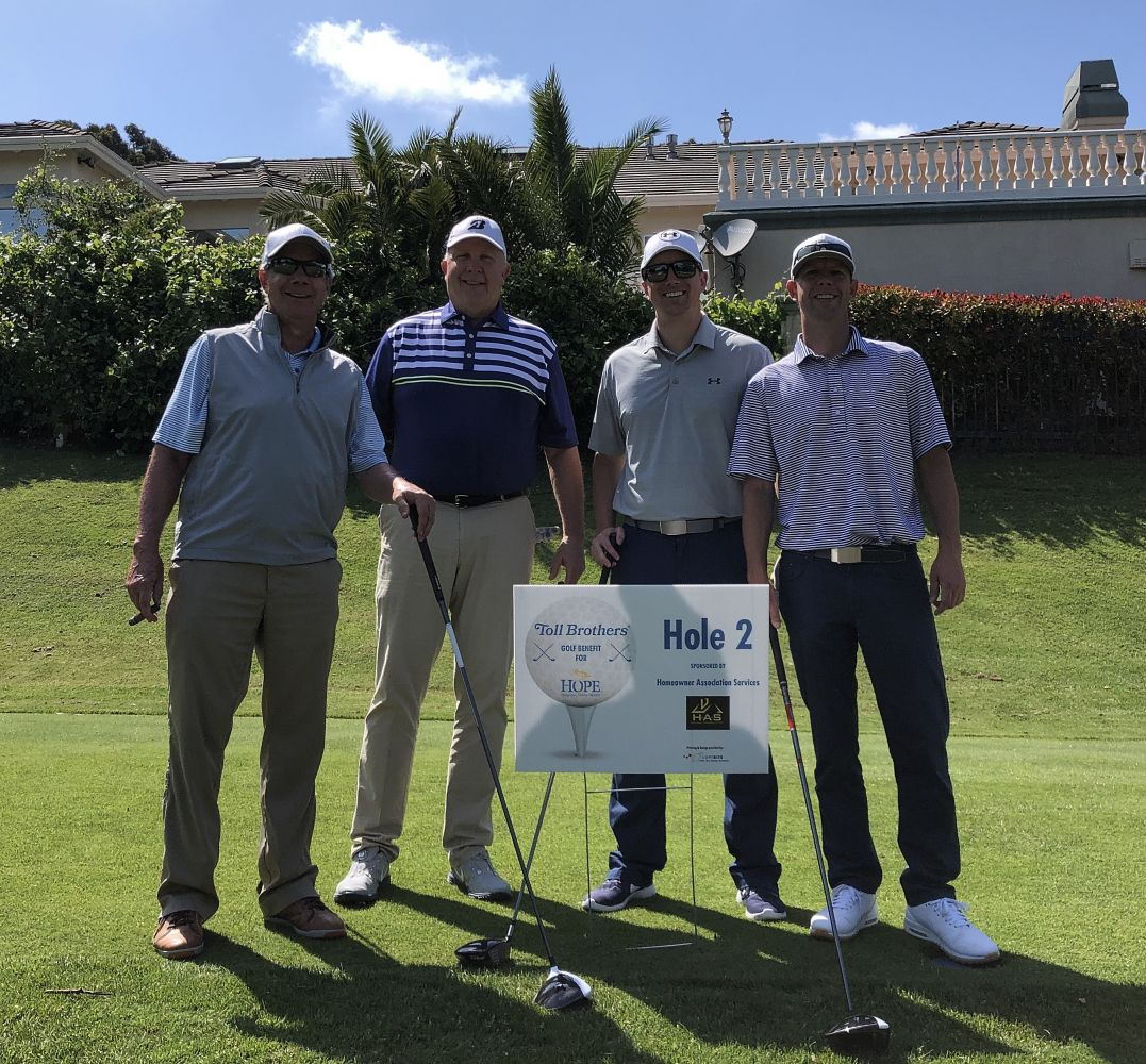 2019 Toll Brothers Golf Tournament for Hope Hospice