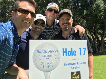 2017 Toll Brothers Golf Tournament for Hope Hospice
